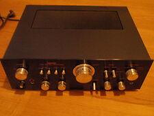 Nikko TRM-750 vintage stereo amp black  2*75 watts good condition worldw.ship