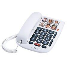 Telefono Analogico Teclas Grandes con Fotos 6 Memorias Auricular Amplificado New