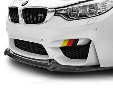 "9"" German Flag Side Skirt Front Lip Decal Kit Volkswagen, Audi, Mercedes, BMW"