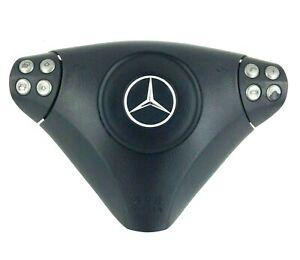 Mercedes Benz C Class SLK CLC AMG W203 R171 drivers steering wheel centre.   14B