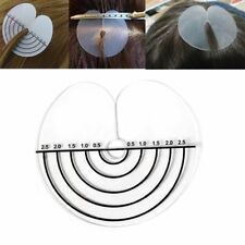 50x Hair Extensions Scalp Protector Heat Shields Thermal Discs with Measurements