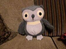 """Kohls Cares for Kids Plush OWL Aesops Fables Gray 10"""" (47/11b)"""