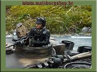 """Halbfigur für deinen RC Panzer Kommandant """"Michael Wittmann"""" 1/16 *Malzburg*"""