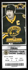 2011 Boston Bruins & Vancouver Canucks Game 6 Stanley Cup Finals Full Ticket