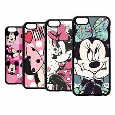 Mickey Mouse Minnie Disney Cartoon Hard Case Cover For iPhone 7 8 11 12 Pro Max