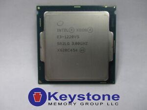 Intel Xeon E3-1220 v5 Quad-Core Socket 1151 CPU Desktop Processor SR2LG 3.0G *km