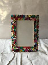 handmade picture frames with all rhinestones set by hand