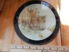 Flue Cover with Ship Scene, Very good Condition, Saiing Ship!