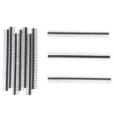 10 Pcs Practical Superior 2x40 Pin 2.54mm Pitch Double Row PCB Pin Headers DI