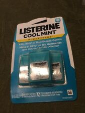 Listerine PocketPaks Breath Strips Cool Mint  (2)Packs.