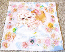 Japan Liz Lisa Shampoo Sheep Pink Blue Rose Floral Face Hand Towel Girl Ladys