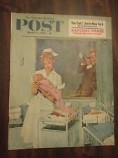 Saturday Evening Post March 11, 1961 Satchel Paige tells his own story
