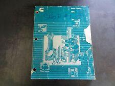 Cummins ISC Parts Catalog   3672137