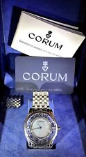 Authentic Corum Men's MYSTERE Mystery Stainless Steel 20mm Watch Band Bracelet