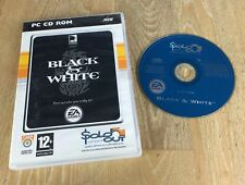 BLACK & WHITE/PC CD-ROM/Gratis P&P