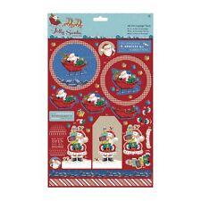 Do-crafts A4 Decoupage Confezione Jolly Babbo Natale Pupazzo Di Neve
