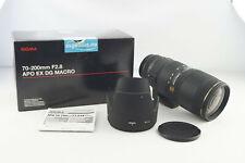 Sigma APO EX DG AF 70-200mm 1:2.8 HSM Macro Canon EF Mount # 5518