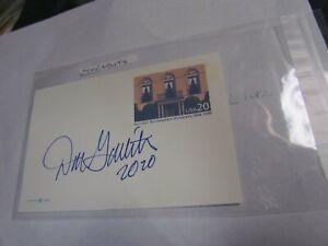Don Garlits Autographed Signed Postcard