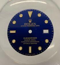 GENUINE Dial BLUE Rolex SUBMARINER REF. 16803 - 16808 - 16613 - 16618