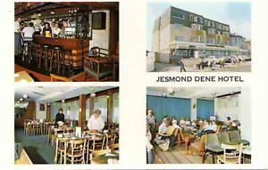 (ca01) Jesmond Dene Hotel Seafront Sandown - Isle of Wight Postcard