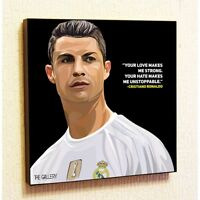 Cristiano Ronaldo 2 Painting Decor Print Wall Art Poster Canvas pop Style