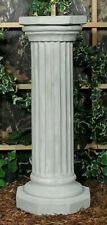Classical Octagon Doric Pedestal Stand Latex Fiberglass Production Mold Concrete