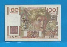 Billet 100 FRANCS  Jeune Paysan 15-4-1948  R.244