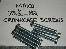 Maico crankcase screw set -original parts - fit -75 1/2 -82 - new