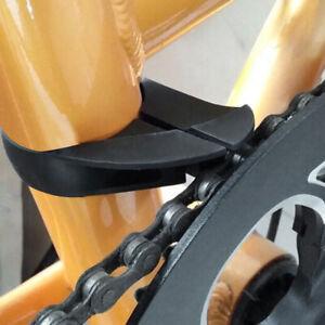 AU_ IC- Adjustable Bike Folding Chain Guard Anti-drop Gear Protective Cover Bicy