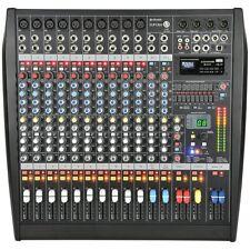 Citronic CLP1200 Studio Grade 12-Channel Mixer Amplifier 1200W Digital FX USB SD