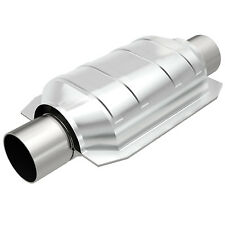 """Magnaflow 94105 Universal High-Flow Catalytic Converter Oval 2.25"""" In/Out"""