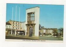 Eyre Square Galway City Ireland 1991 Postcard 876a