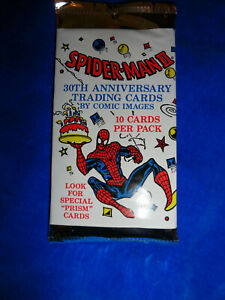 1992 Comic Images Spider-man II - 30th Anniversary Pack