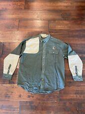 Bob Allen High Prairie Long Sleeve Hunting Shirt Xl, Green/Tan, Sci Logo