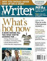 Writer Magazine Editor Tips First Person Mystery Tax Season Copywriting Bad Book