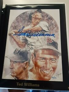 Petronella Lithographs signed Ted Williams, Ricky Henderson, Seaver... 8 total