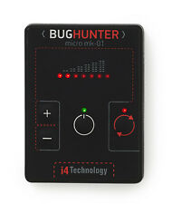 Wireless Bug Detector BugHunter MICRO Hidden Camera Microphone Cell Phone Hunter