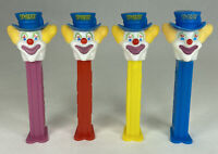 Peter the Clown Stems 4.9 (3) Hungary (1) Slovenia PEZ Dispensers Lot of 4