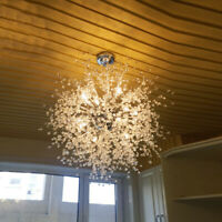 Modern Luxury LED Chandelier Firework Pendant Lamp Ceiling Light Home Decor