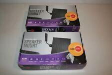 Omni Mount 30.0 Professional Series Speaker Mount  Black NEW 30 lbs. hold pair