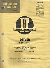 Iampt Oliver Shop Manual Series 99gmtc 950990995770880