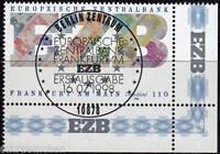 Bund 2000 , o , Eckrand mit Berliner FDC Stempel