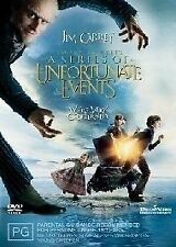 Lemony Snicket's - A Series Of Unfortunate Events (DVD, 2005) -- Free Postage--