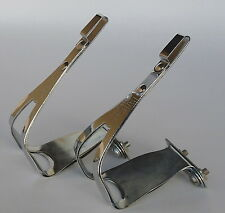Paturaud Toe Clips Special Cross Pedal Double vintage Bike Herse Singer NOS