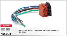 CARAV 12-001 Conector ISO Universal Alimentacion Altavoces Macho Radio Adaptador