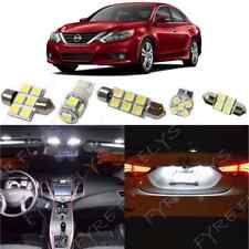11x White LED Interior Light Package Kit for 2016 2017 2018 Nissan Altima +Tool