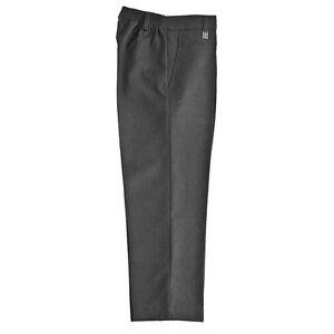 Zeco School Uniform Boys Elastic Standard Fit Trouser (3-17YRS)(BT3052)  Teflon