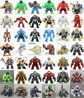 ALL Big Size Minifigures Building Toys Marvel Avengers DC Super Hero Minifigures