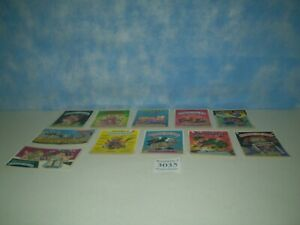 """Lot of 11 Original 1986 Garbage Pail Kids Post Cards Approx Size 6 7/8"""" x 4 7/8"""""""