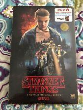 NEW STRANGER THINGS SEASON 1 BLU RAY DVD TARGET EXCLUSIVE VHS PACKING + POSTER